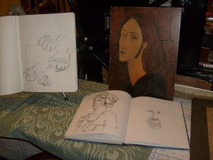 Madeline's Sketchbooks