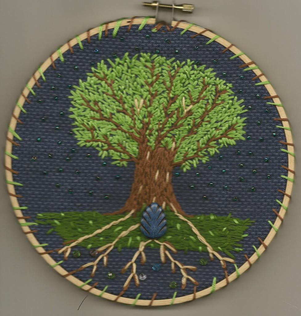 Dream Tree Embroidery